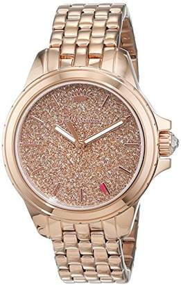 Juicy Couture Womens Analogue Classic Quartz Watch with Stainless Steel Strap 1901594