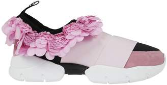 Emilio Pucci Sequin Embellished Slip-on Sneakers