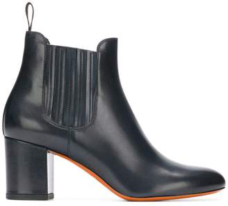 Santoni mid-high ankle boots