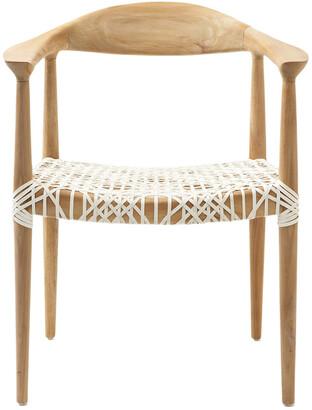 Safavieh Reclaimed Teak Arm Chair