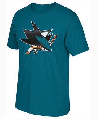 Reebok Men's San Jose Sharks Sweater Emblem T-shirt $25 thestylecure.com