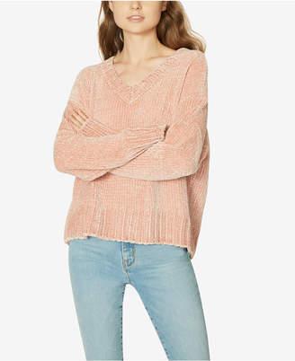 Sanctuary Chenille V-Neck Pullover Sweater