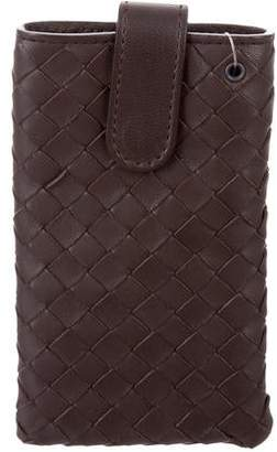 Bottega Veneta Intrecciato Leather Phone Case