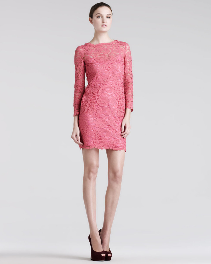 Balmain Pierre Unlined Lace Minidress