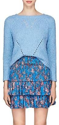 Etoile Isabel Marant Women's Shields Stockinette-Stitched Sweater - Lt. Blue