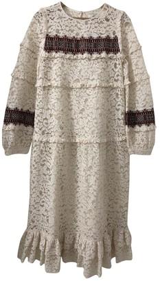 Stella Forest Ecru Lace Dress for Women