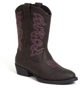 Deer Stags Little and Big Boys and Girls Ranch Unisex Pull On Western Cowboy Fashion Comfort Boot