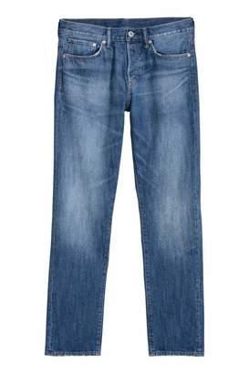 H&M Straight Jeans - Denim blue - Men