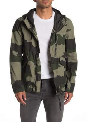 G Star Blan Camo Print Jacket