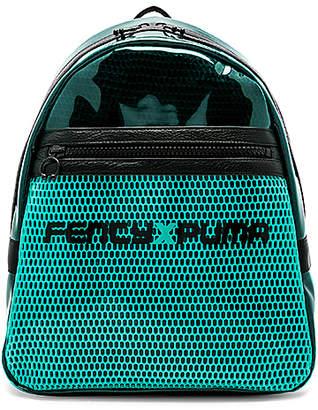 Fenty Puma by Rihanna Clear Airmesh Backpack w/ Leather Trim 7q96n12wt