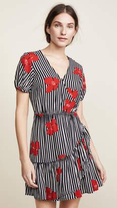 Madewell Bianca Ruffle Wrap Dress