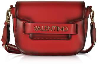 Mario Valentino Valentino by Eco Leather Blast Small Shoulder Bag w/Canvas Strap