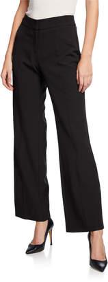 Nanette Lepore Nanette Seamed Flare-Leg High-Waist Pants