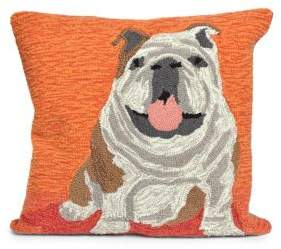Frontporch Wet Kiss Indoor and Outdoor Square Pillow