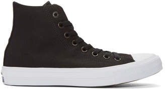 Converse Black and White Chuck Taylor All Star II High-Top Sneakers