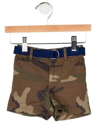Ralph Lauren Boys' Camouflage Belted Shorts