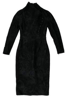 Gucci Jacquard Midi Dress