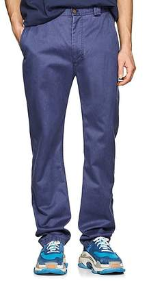 Acne Studios Men's Muray Sat Cotton-Blend Chinos