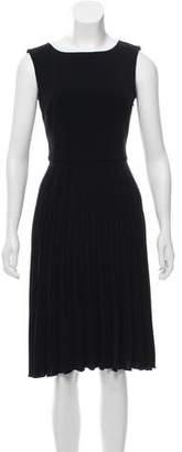 Armani Collezioni Pleated Midi Dress