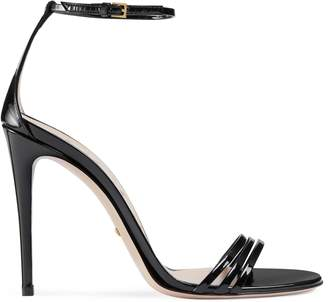 Patent leather sandal $695 thestylecure.com