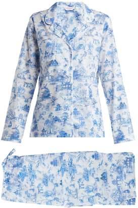 Derek Rose Ledbury 11 cotton pyjama set