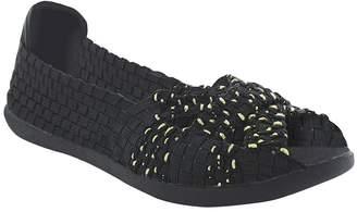 PeepToe Heal Peep-Toe Flats - Ellen