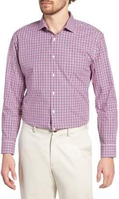 Nordstrom Trim Fit Check Dress Shirt