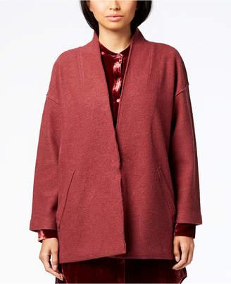 Eileen Fisher Merino Wool Kimono-Sleeve Jacket, Regular & Petite