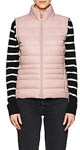 Save The Duck SAVE THE DUCK WOMEN'S CHANNEL-QUILTED TECH-FABRIC VEST-BLUSH PINK,996 SIZE XS