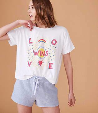 Lou & Grey Calhoun & Co. Floral Love Wins Tee