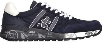 Premiata Lander 3247 Blue Sneakers