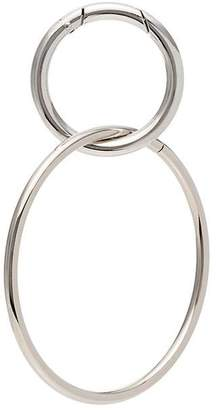 Martine Ali metallic sterling silver belt ring