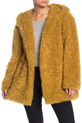 Sebby Faux Fur Hooded Jacket