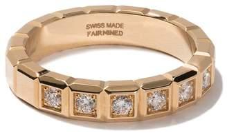 Chopard (ショパール) - Chopard アイスキューブ ダイヤモンド リング 18Kイエローゴールド