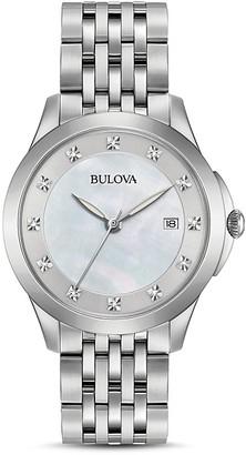 Bulova Diamonds Watch, 36mm $325 thestylecure.com