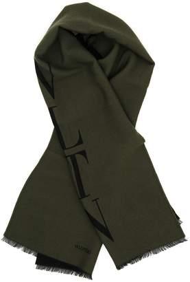 Valentino Wool And Silk Scarf