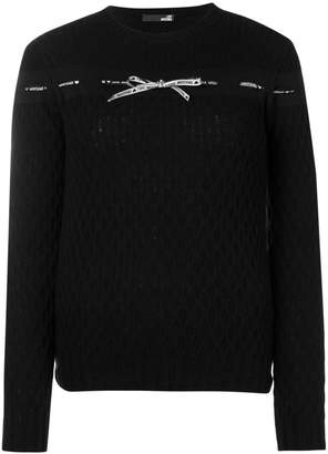 Love Moschino bow detail jumper