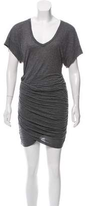 IRO Ruched Mini Dress
