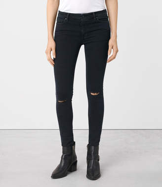 AllSaints Mast Knee Destroy Jeans