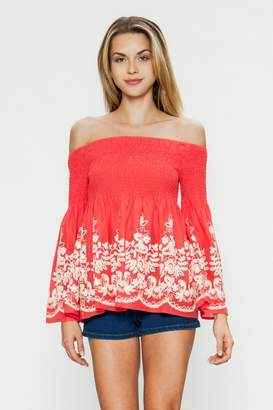 Flying Tomato Ots Embroidered Bell