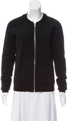 Torn By Ronny Kobo Zip-Up Knit Jacket