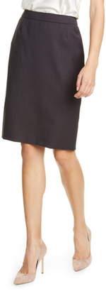 BOSS Vilea Check Skirt