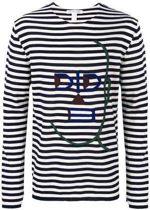 Comme des Garcons striped sweater