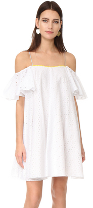 Anna October Off the Shoulder Dress $755 thestylecure.com
