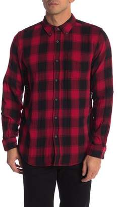 Joe Fresh Plaid Print Standard Fit Shirt