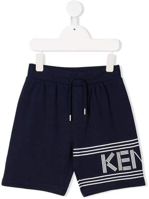 Kenzo drawstring track shorts