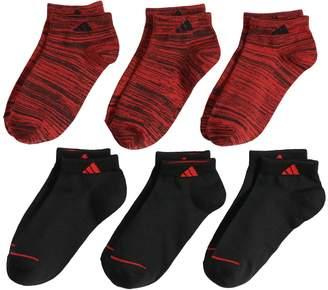 adidas Boys 4-20 6-Pack Superlite Low-Cut Socks