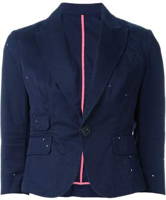 DSQUARED2 three-quarter length sleeve blazer