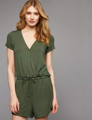A Pea in the Pod Pull Over Mock Layer Nursing Romper