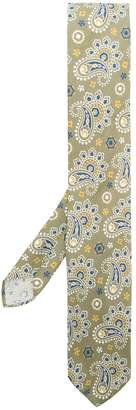 Lardini paisley print tie